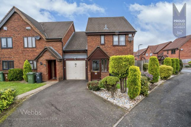 3 bed link-detached house to rent in Saunton Road, Turnberry Estate, Bloxwich WS3
