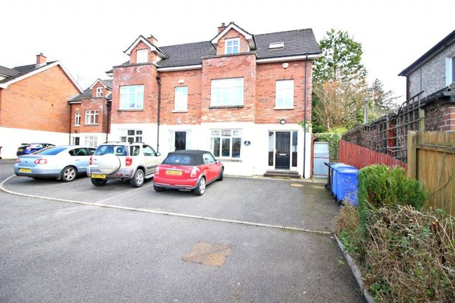 Thumbnail Town house to rent in Dub Lane, Upper Malone Road, Belfast