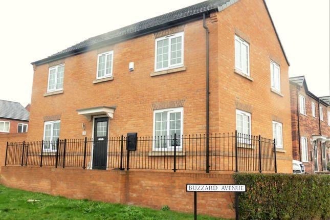 Thumbnail Detached house for sale in Buzzard Avenue, Mexborough