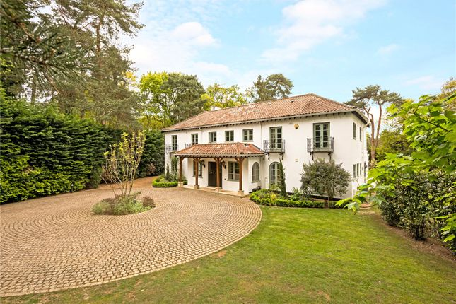 Thumbnail Detached house for sale in Godolphin Road, Weybridge, Surrey