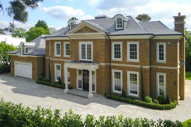 Thumbnail Detached house to rent in Farmleigh Grove, Burwood Park, Walton-On-Thames, Surrey