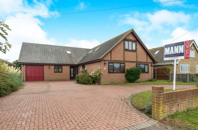 Thumbnail Bungalow for sale in Danes Drive, Bay View, Sheerness, Kent
