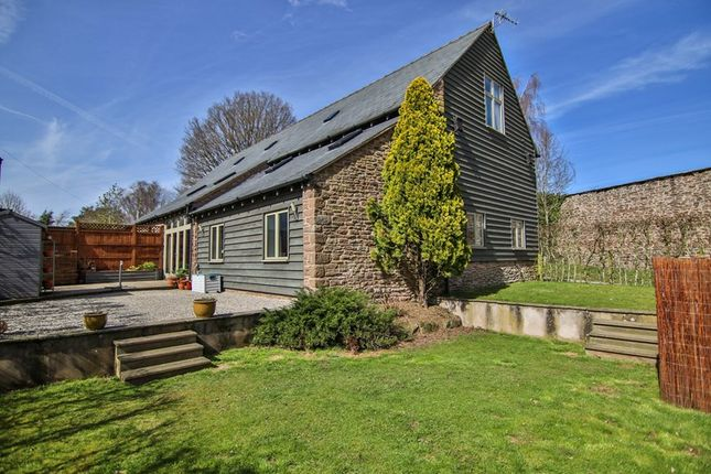 Thumbnail Barn conversion for sale in Much Birch, Hereford