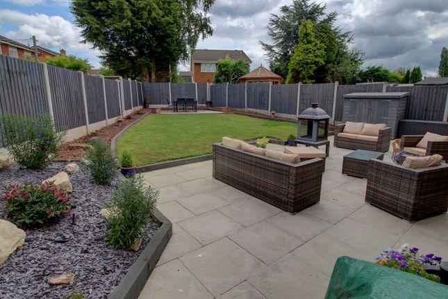 Rear Garden of Dunster Grove, Perton, Wolverhampton WV6