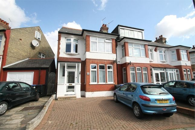 Thumbnail End terrace house to rent in Farm Road, London