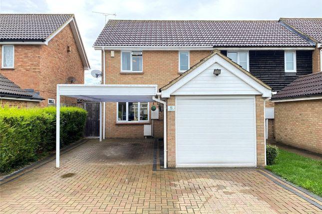 Thumbnail End terrace house for sale in Fraser Close, Laindon, Basildon, Essex