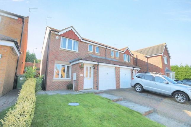 Thumbnail Semi-detached house for sale in Copeland Close, Skelton-In-Cleveland, Saltburn-By-The-Sea