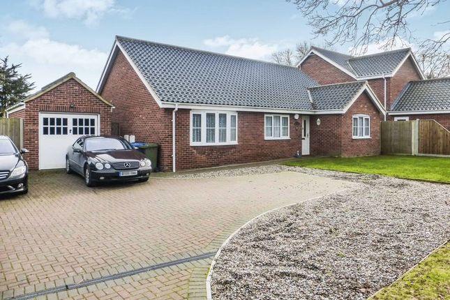 Thumbnail Detached bungalow for sale in Cotmer Road, Carlton Colville, Lowestoft