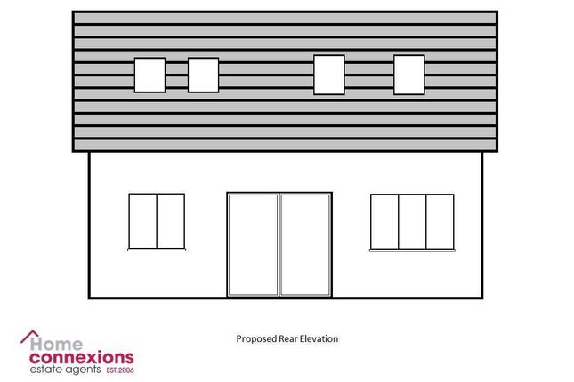 Proposed Property Rear Elevation