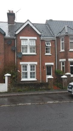 Thumbnail Terraced house to rent in St Johns Road, Heckford Park, Poole