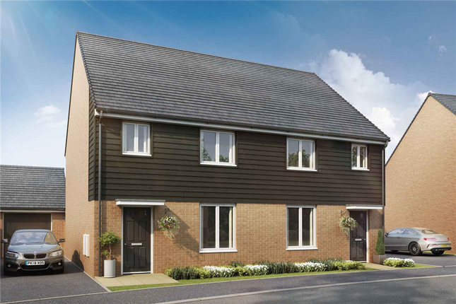 """3 bed semi-detached house for sale in """"The Byford - Plot 110"""" at Stoke Road, Hoo, Rochester ME3"""