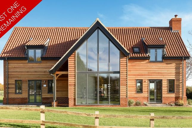 Thumbnail Detached house for sale in Reymerston, Norwich