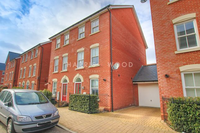 Thumbnail Link-detached house for sale in Cavalry Road, Colchester