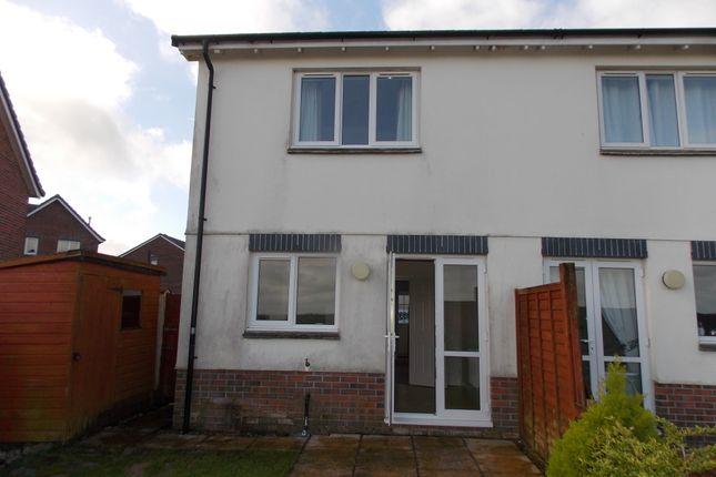 Thumbnail Semi-detached house to rent in Foxglove Close, Launceston