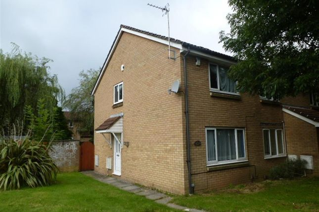 Thumbnail End terrace house to rent in Fairview Close, St Mellons, Cardiff