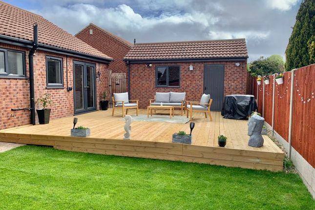 Thumbnail Detached bungalow for sale in Calder Green, Messingham, Scunthorpe