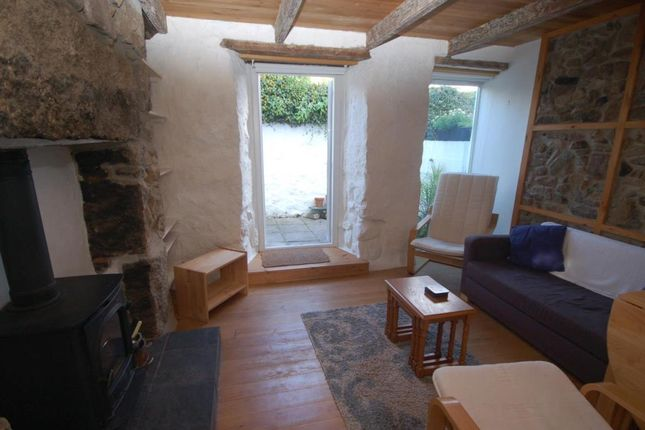 Thumbnail Terraced house to rent in Sandows Lane, St Ives, Cornwall