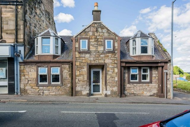 Thumbnail Town house for sale in New Street, Dalry, North Ayrshire