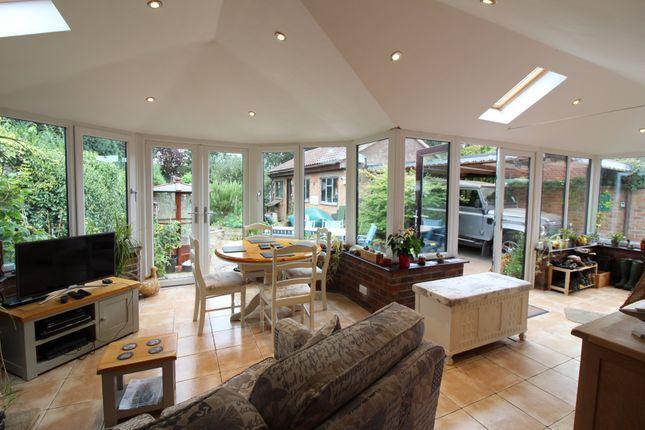 Thumbnail Detached bungalow for sale in Mountfield Avenue, Hellesdon, Norwich