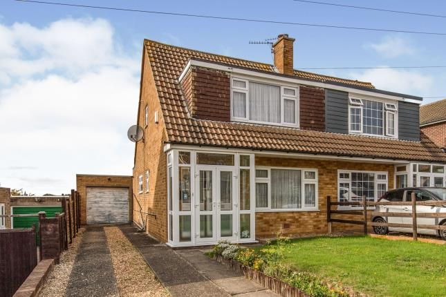 Thumbnail Semi-detached house for sale in Crockenhall Way, Istead Rise, Gravesend, Kent