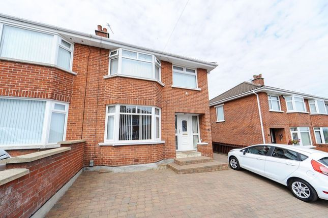 Thumbnail Semi-detached house for sale in Glenview Gardens, Belfast