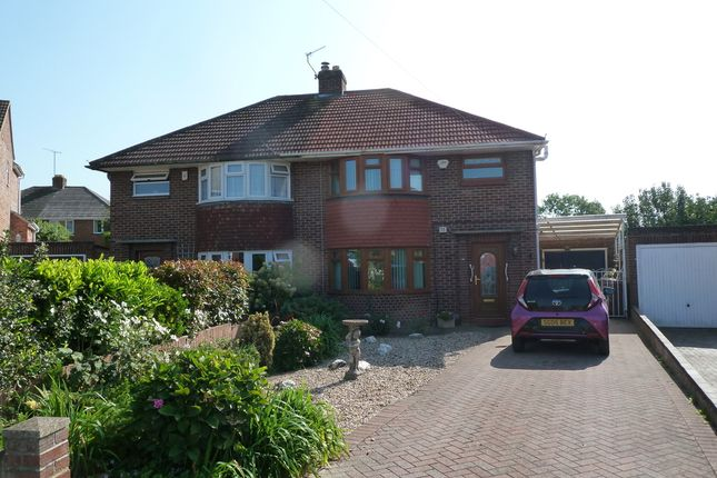 Thumbnail Semi-detached house for sale in Chosen Drive, Gloucester