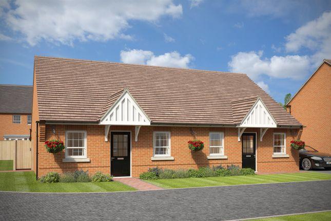 Thumbnail Semi-detached bungalow for sale in Cedar Walk, Offenham, Evesham