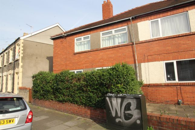Thumbnail Semi-detached house for sale in Wyeverne Road, Cathays, Cardiff