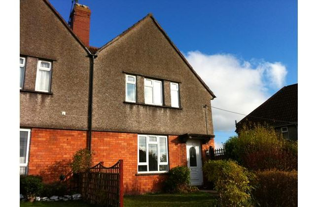 Thumbnail Semi-detached house to rent in Mary Road, Wells