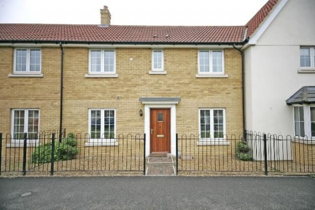 Thumbnail Terraced house to rent in Thistle Way, Red Lodge, Bury St. Edmunds