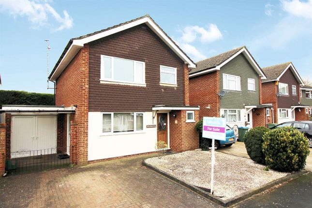 Detached house for sale in Hoods Farm Close, Bierton, Aylesbury