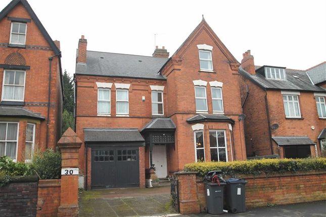 Thumbnail Detached house for sale in Clarendon Road, Edgbaston, Birmingham
