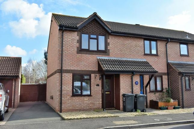 Thumbnail End terrace house for sale in Tyne Park, Taunton, Somerset
