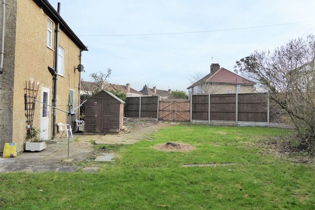 Thumbnail End terrace house for sale in Woodcroft Crescent, Uxbridge, Greater London