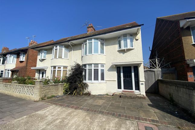 Thumbnail Semi-detached house for sale in Westbourne Avenue, Broadwater, Worthing