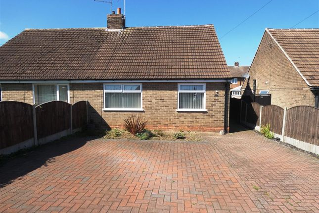 Thumbnail Semi-detached bungalow to rent in Stanhope Road, Mickleover, Derby