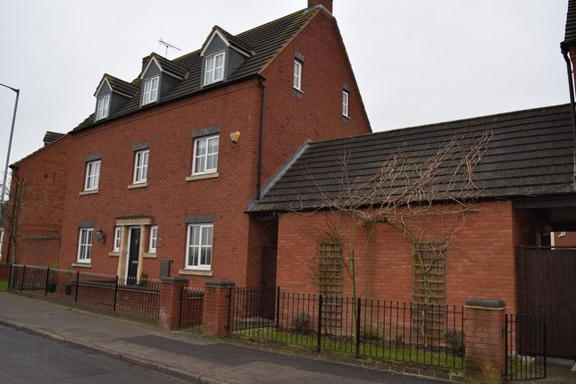 Thumbnail Detached house to rent in Station Road, Rolleston-On-Dove, Burton-On-Trent