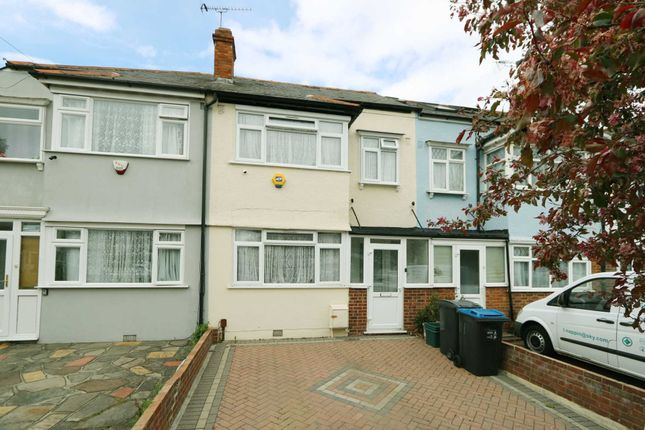 Thumbnail Terraced house to rent in Cavendish Road, New Malden