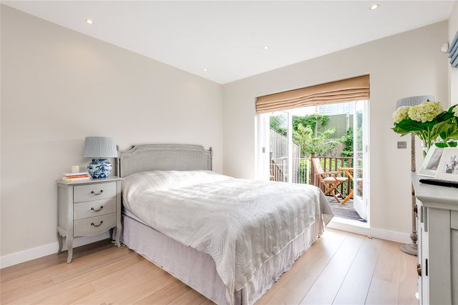 Master Bedroom of Philbeach Gardens, Earls Court, London SW5