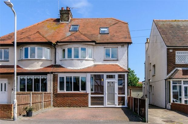 Thumbnail Semi-detached house for sale in Rosemary Avenue, Broadstairs