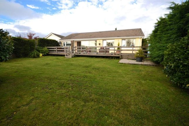 Thumbnail Detached bungalow to rent in Lydcott Close, Looe, Cornwall