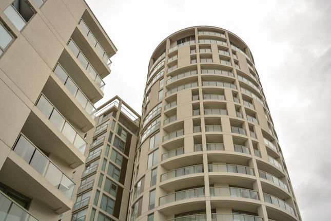 Thumbnail Flat for sale in Trinity Tower, Quadrant Walk, London