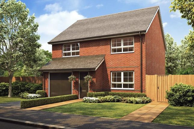 "Thumbnail Detached house for sale in ""Kennford"" at Stretton Road, Stretton, Warrington"