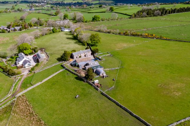 Thumbnail Farmhouse for sale in Hill Top Farm, Nether Row, Hesket Newmarket, Wigton, Cumbria