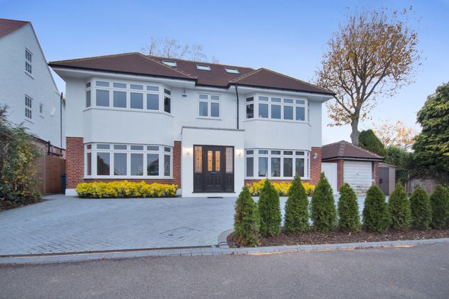 Thumbnail Detached house for sale in Woodridings Avenue, Pinner, Middlesex