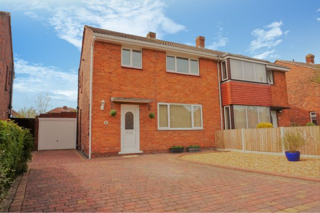 Thumbnail Semi-detached house for sale in Corndon Crescent, Shrewsbury