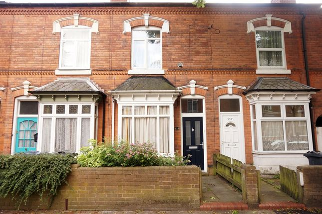 Thumbnail Terraced house to rent in Somerset Road, Handsworth Wood, Birmingham