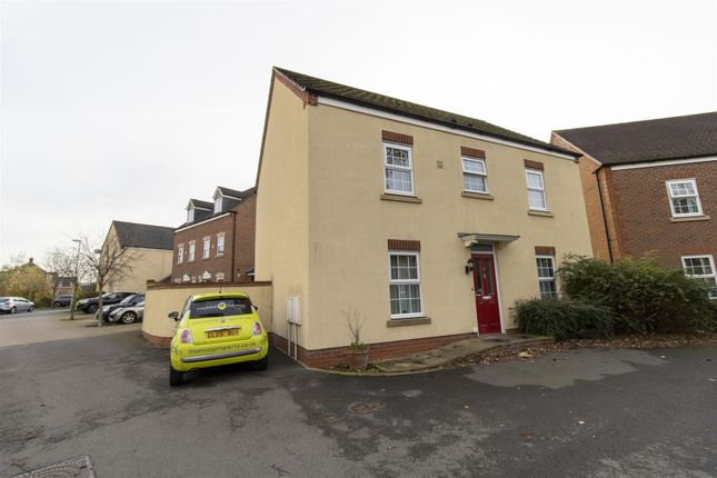 Thumbnail Detached house for sale in Aldergrove Kingsway, Quedgeley, Gloucester