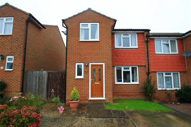 Thumbnail Semi-detached house for sale in Kite Close, St Leonards-On-Sea, East Sussex