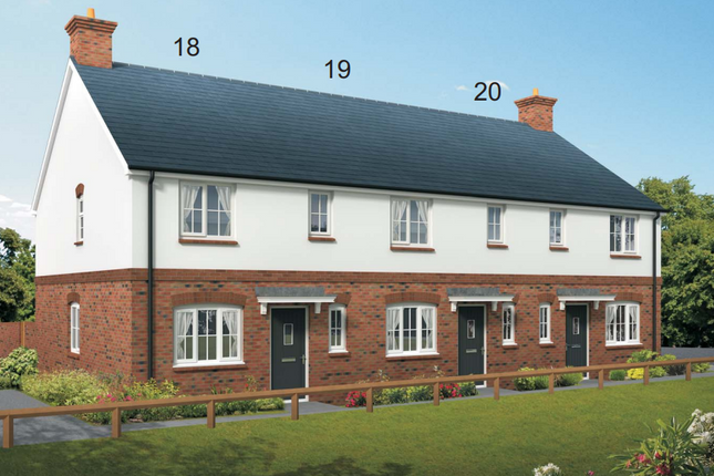 Thumbnail Semi-detached house for sale in Squires Meadow, Lea, Ross-On-Wye, Herefordshire